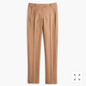 J Crew Sz 6 Maddie full-length trouser